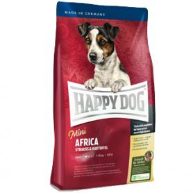 Сухой корм для собак мелких пород Happy Dog Supreme Mini Africa